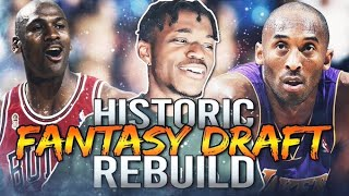 HISTORIC FANTASY DRAFT REBUILDING CHALLENGE IN NBA 2K20
