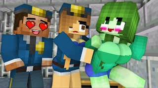 MONSTER SCHOOL : THEY ALL LOVE THIS GIRL 24 HOURS (All episode)  - FUNNY MINECRAFT ANIMATION