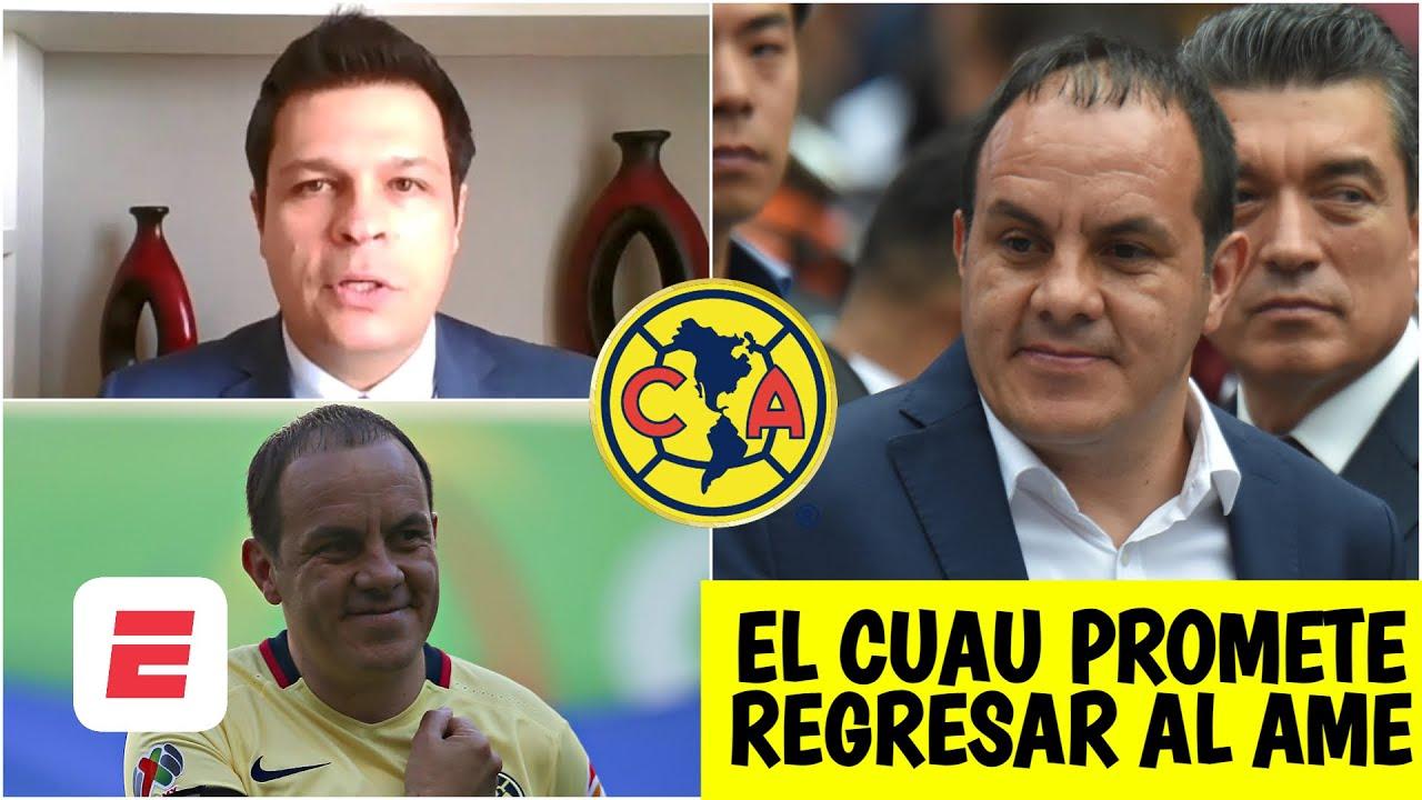 EXCLUSIVA Cuauhtémoc Blanco ADVIERTE al América vs Chivas. 'No se confíen' en el Clásico
