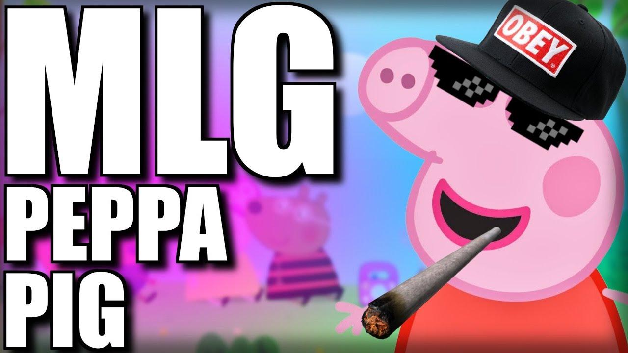 MLG Peppa Pig - Świnka Peppa Bąbelki - YouTube