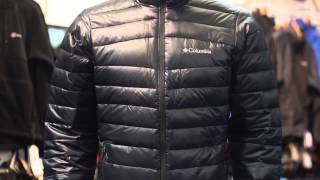 Columbia Platinum Turbodown Down Jacket. www.gaynors.co.uk