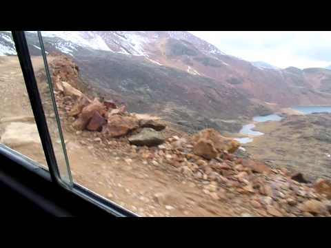 Caminho para Chacaltaya