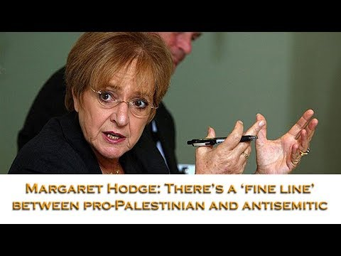 Margaret Hodge: There's a fine line between pro-Palestinian and antisemitism