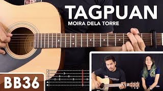 Tagpuan - Moira Dela Torre Guitar Tutorial / Cover