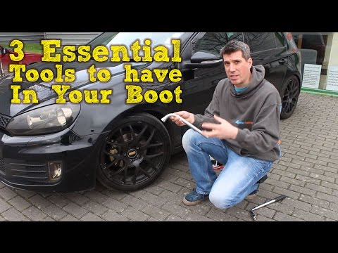 3 Essential Tools To Carry In Your Boot-MicksGarage.com