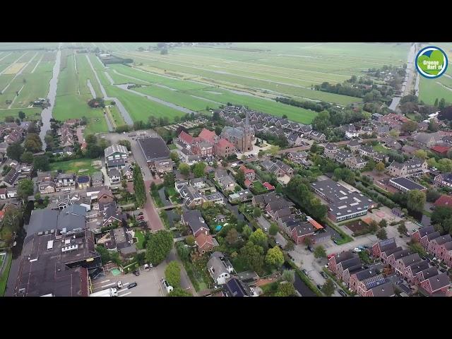 Reeuwijk Dorp in vogelvlucht
