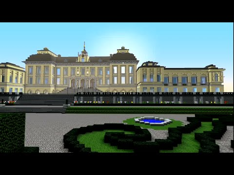 Drottningholm - The Royal Palace - Minecraft - YouTube