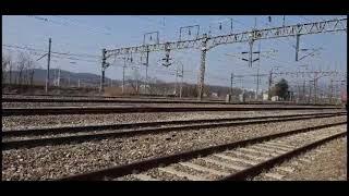 의왕철도박물관 열차포인트 고추장도색 기관차