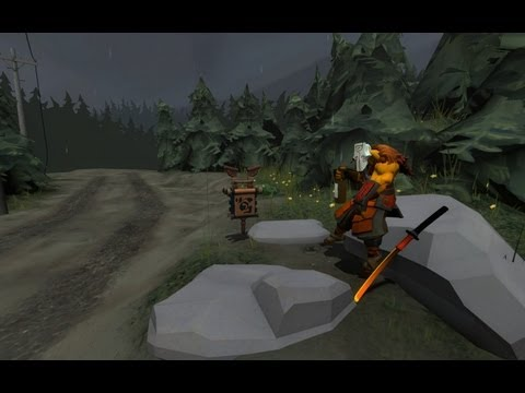 видео: Гайд по dota 2 - juggernaut.  Упала Шляпа упала - на пол :d