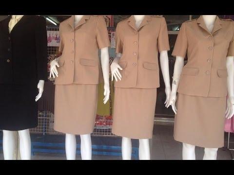 บริการรับตัดเสื้อ ตัดชุดทำงาน ตัดสูท ชุดข้าราชการ ชุดผ้าไหม งานปราณีต ไม่ผิดหวังค่ะ