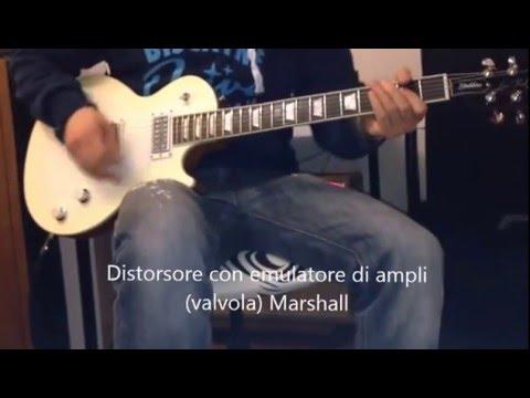 LA COSTRUZIONE DEL SUONO della chitarra elettrica
