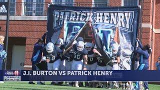 Patrick Henry tops J.I. Burton; Union, Ridgeview and Abingdon fall