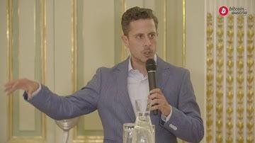 Saifedean Ammous: The Bitcoin Standard - book presentation in Vienna, Austria