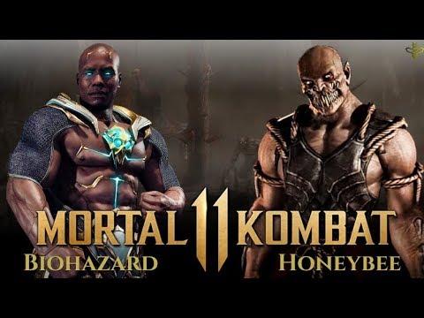 GERAS VS BARAKA! Mortal Kombat 11 Gameplay! Biohazard vs HoneyBee! [EXCLUSIVE]