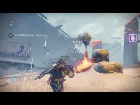 Destiny: Rise Of Iron - Quarantine Patrol Mission - Plaguelands (This Corrupted Land Quest)
