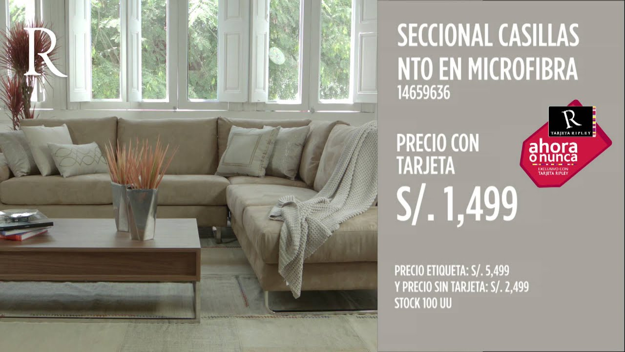 Ripley deco muebles youtube for Muebles de sala en saga falabella