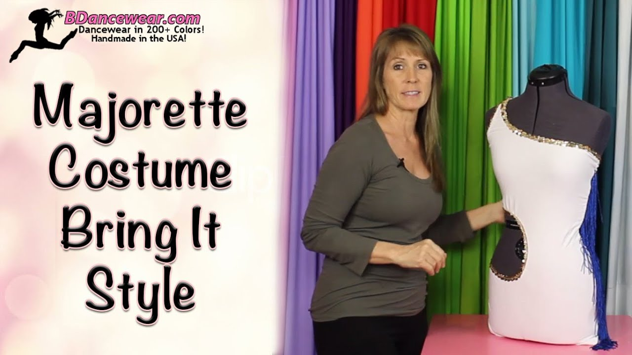 sc 1 st  YouTube & How to Make a Majorette Costume