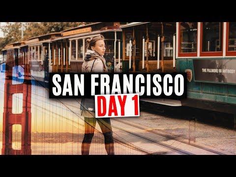 USA Travel. San Francisco Vlog. Day 1.