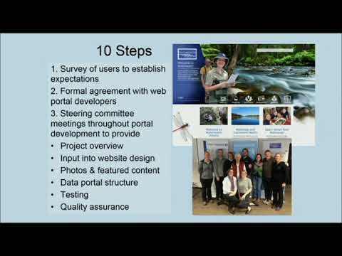 D Murphy: Community Data Discovery With The WaterWatch & EstuaryWatch Web Portals