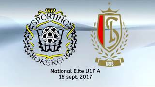 Nat. Elite U17 - K.SC. Lokeren - R. Standard de Liége