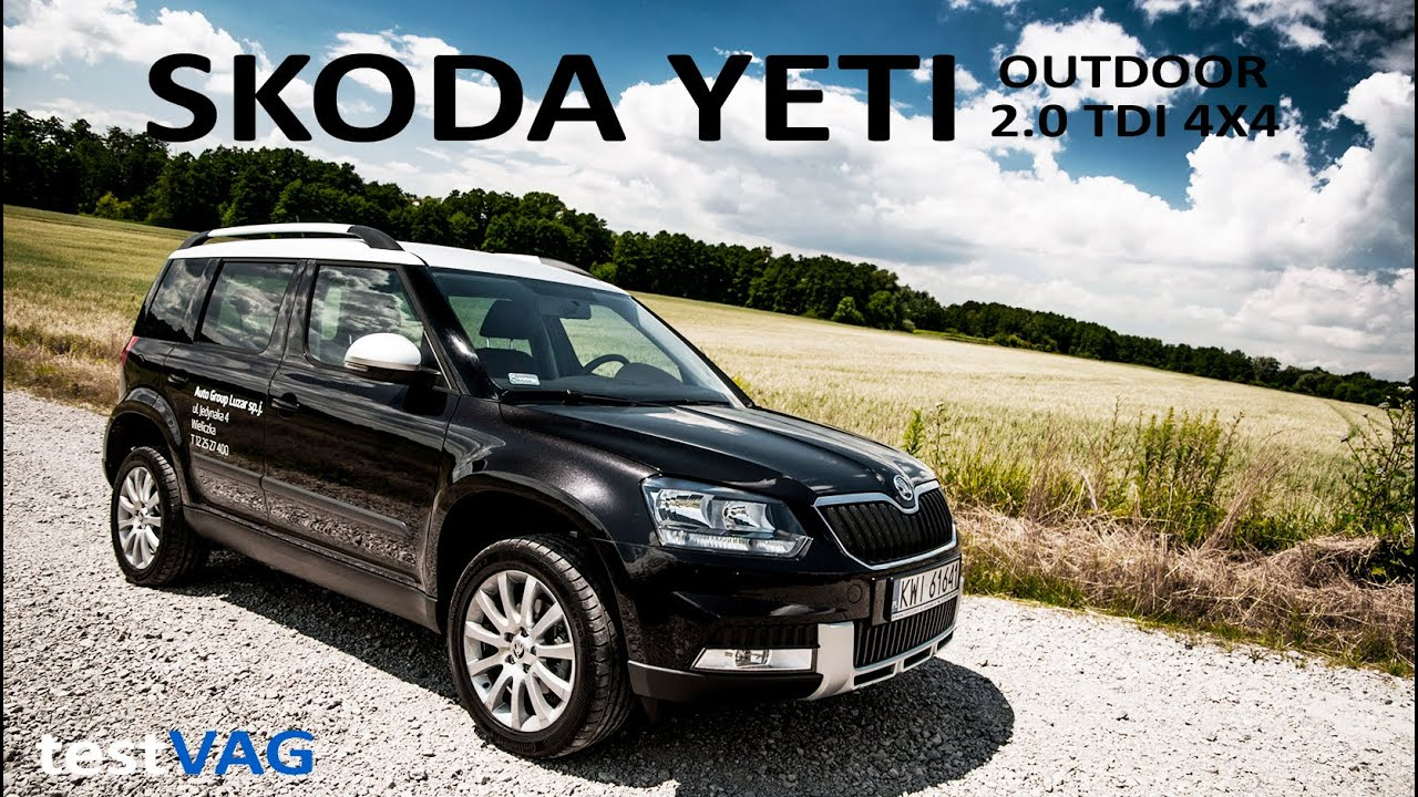 skoda yeti outdoor 2 0 tdi 150km 4x4 test 2016 testvag youtube. Black Bedroom Furniture Sets. Home Design Ideas