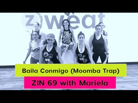 New!! Baila Conmigo  Zumba ZIN 69 || Zumba Choreo with Mariela at Z Sweat Dance and Fitness