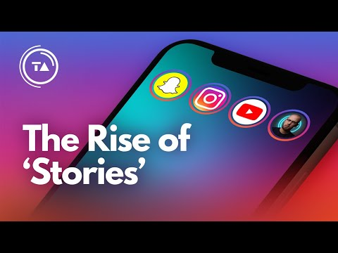 """Why """"stories"""" took over Instagram, Snapchat & more"""