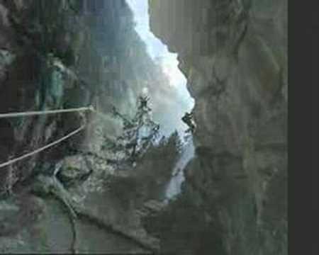Klettersteig Fallbach : Klettersteig fallbach maltatal austria youtube