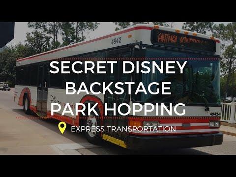 Express Transportation Disney World Park Hopping Backstage Transfer to Skip Lines