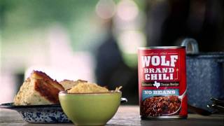 """Wolf Brand Chili """"real Texas"""" Core :30 Tv Audio Producers Group (apg)"""