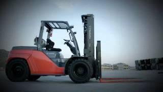 Toyota Forklift 8-Series Large Pneumatic