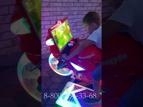 Мото симулятор игровой автомат с видеоигрой