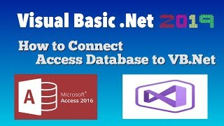Visual Basic Studio 2019  How to Connect Access Database to VB.Net