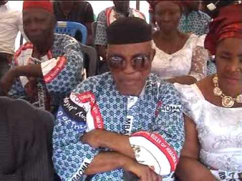 Coronation ceremony of EZE B.O. Nelson-Anyanwu