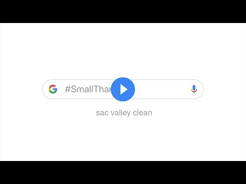 A #SmallThanks from sac valley clean to you - November 2018