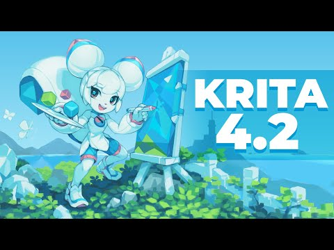 New Features in Krita 4.2: Release Video