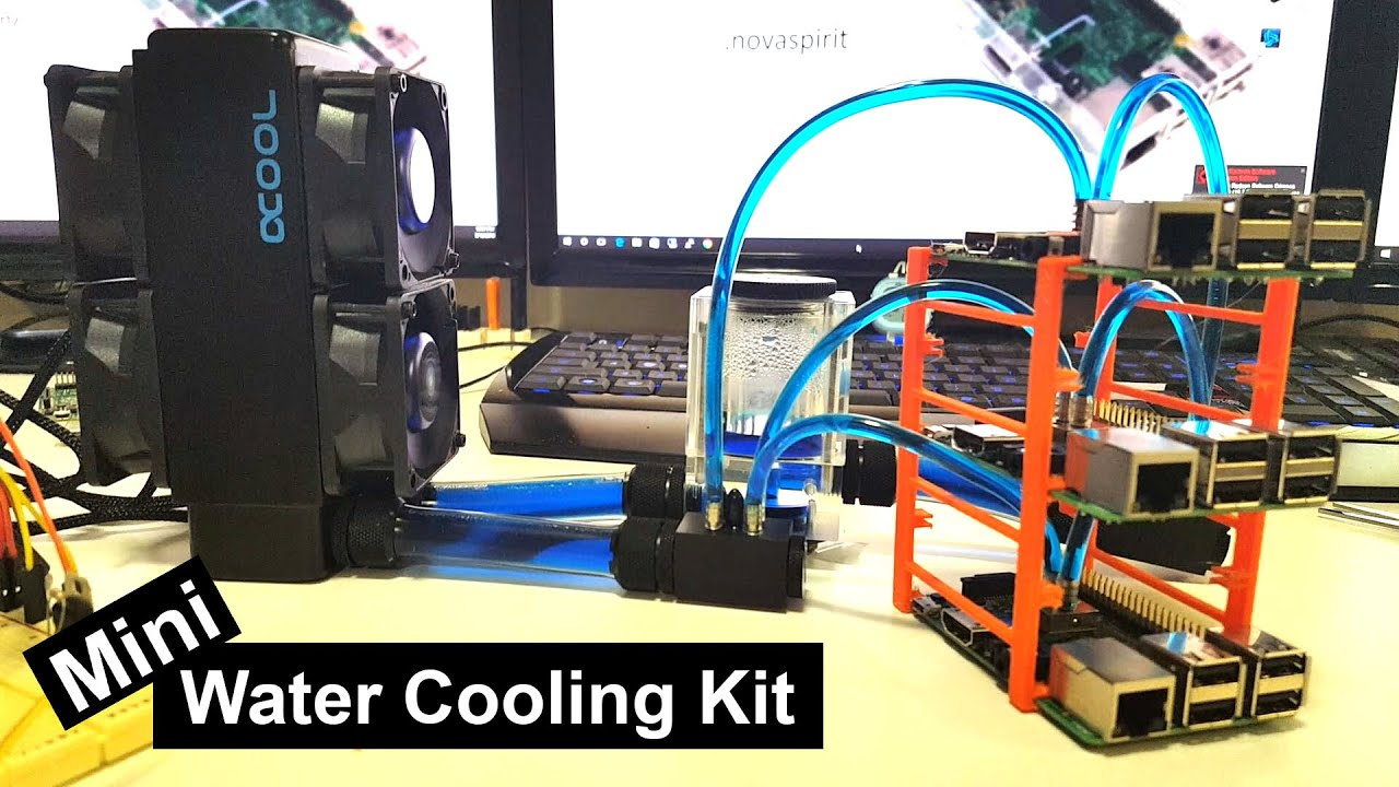 Water Cooling Kit For Embedded Devices Youtube