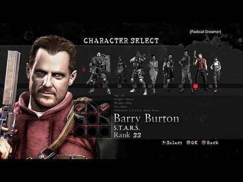 Resident Evil 5 PS4 Mercenaries United Barry 680k Public Assembly 60fps