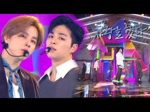 """""""Comeback Special"""" IKON (icon) - LOVE SCENARIO (cinta Itu) @ Popular Inkigayo 20180128"""