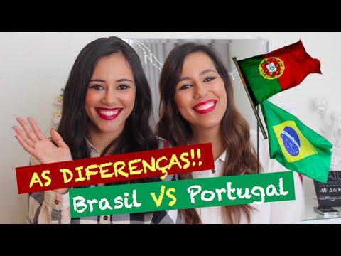 AS DIFERENÇAS: Brasil vs Portugal!