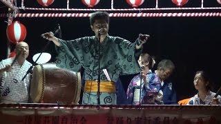 河内音頭 三音家 浅龍 一津屋荘園盆踊り 2014.08.31