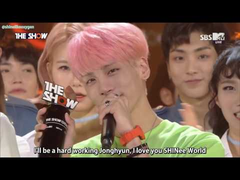 [ENG SUB] 160531 Jonghyun's 1st Win W/ 'She Is' On The Show + Encore
