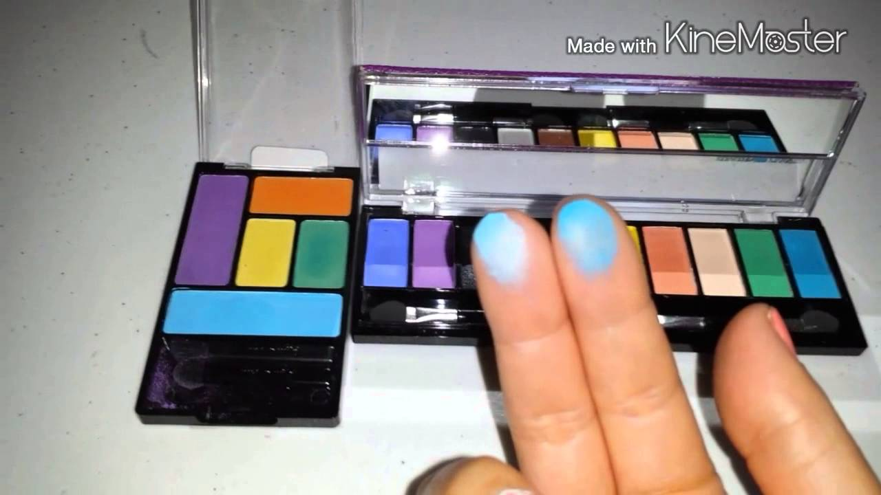 Hard Candy Eyeshadow Palette Review Comparison Youtube
