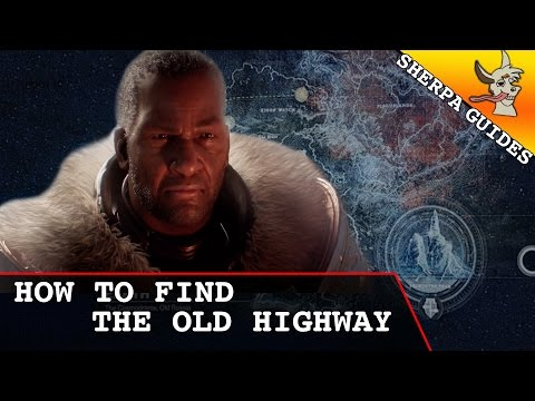 How to Find the Old Highway | Splicer Intel Relay | Destiny Rise of Iron