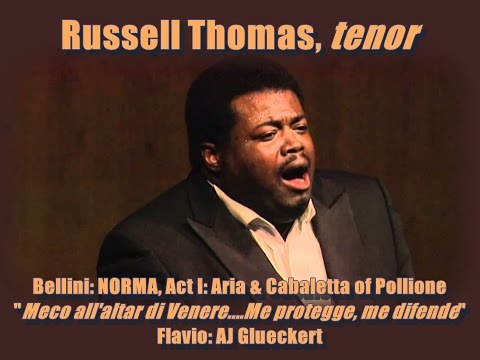 Russell Thomas Sings Pollione In Norma By Bellini