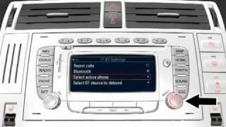 Активація системи навігації Ford Travelpilot FX з підключеного мобільного телефону