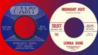 JOEY POWERS / LORNA DUNE - Midnight Mary / Midnight Joey (1964)