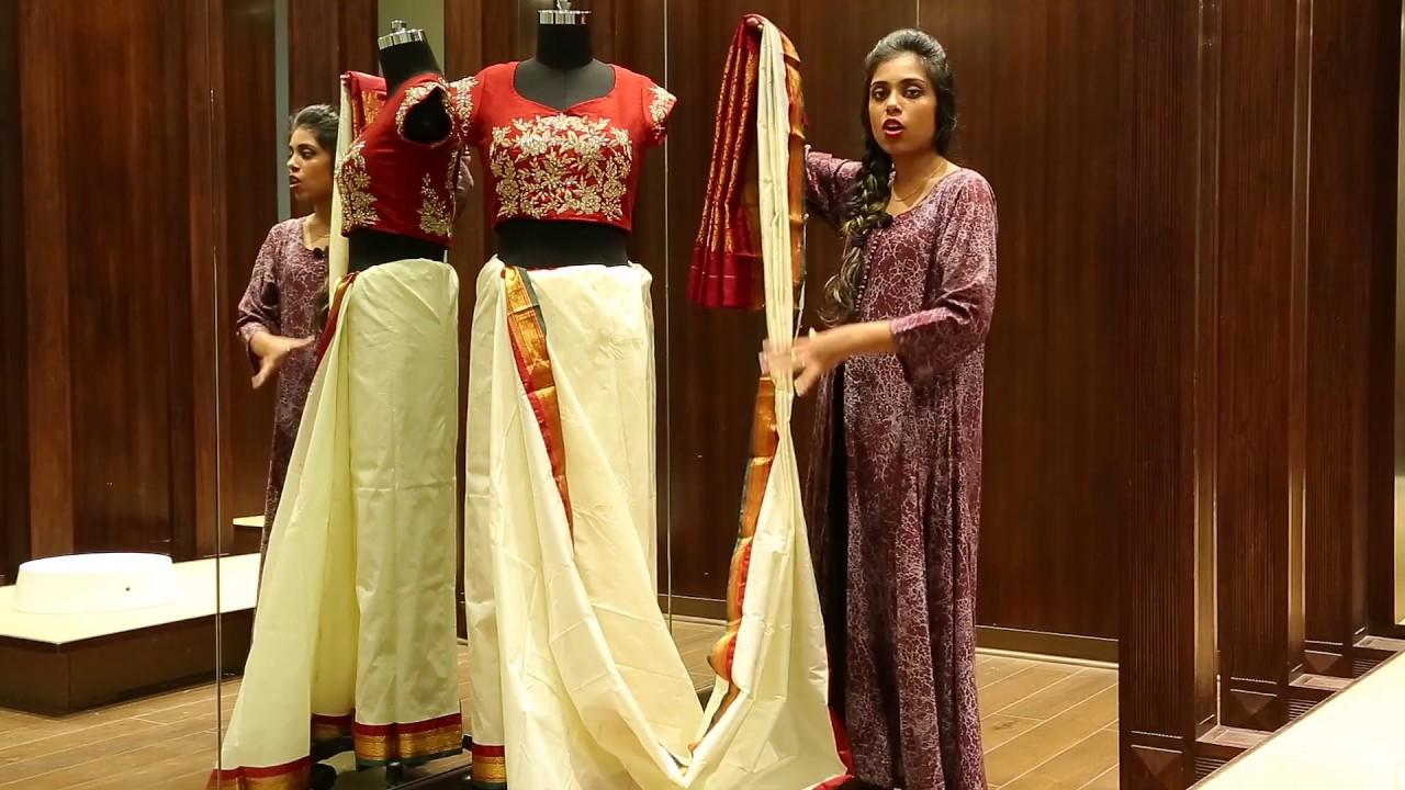 How to bengali wear bridal saree