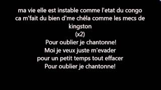 Black-M Pour oublier [paroles/lyrics]