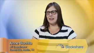 Teacher Collaboration Holds Key to Bookshare Library - Anne Buchta, TX AT Coordinator